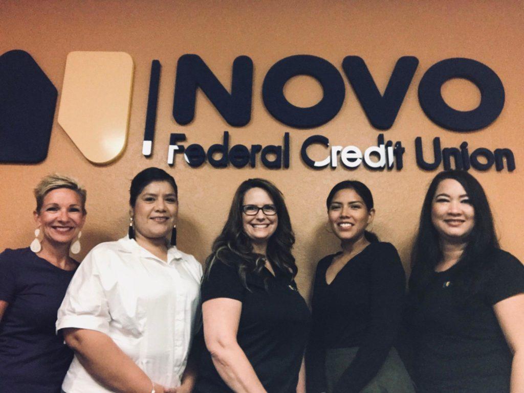 The Novo CU staff